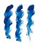 Fingerpaint. Colors (cmyk to rgb Stock Image