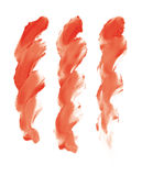 Fingerpaint. Colors (cmyk to rgb Royalty Free Stock Photo