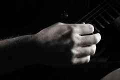Fingerpicking Royalty Free Stock Images