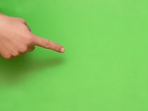 Fingerpointing Royalty Free Stock Photography