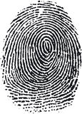 Fingerprint (16). Very detailed Fingerprint, available as EPS vector or JPG Royalty Free Stock Images
