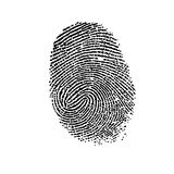Fingerprint. Stock Photography