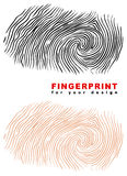 Fingerprint. Stock Photos