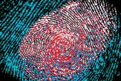 fingerprint fotos de archivo libres de regalías