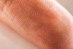 fingerprint photo libre de droits