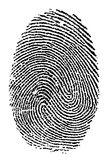 fingerprint Fotografia de Stock Royalty Free