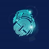 fingerprint Immagini Stock Libere da Diritti