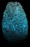 fingerprint Image stock