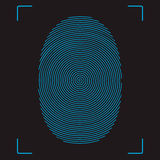 fingerprint Zdjęcia Royalty Free