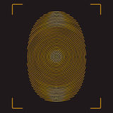 fingerprint Fotos de Stock