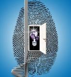fingerprint imagen de archivo