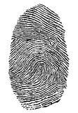 Fingerprint Royalty Free Stock Image
