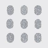 fingerprint Fotos de archivo