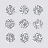 fingerprint Foto de archivo libre de regalías