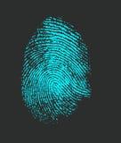 fingerprint Στοκ Εικόνες