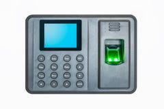 Fingerprint attendance Royalty Free Stock Images