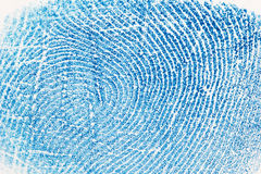 Fingerprint background Royalty Free Stock Photography