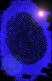 Fingerprint. Royalty Free Stock Photo