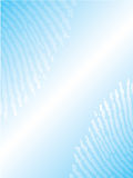 Fingerprint brochure design. Fingerprinted light blue brochure design Royalty Free Stock Photography
