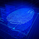 Fingerprint Royalty Free Stock Photo