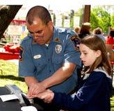 Fingerprint Id Program for Kids Royalty Free Stock Photography