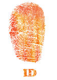 Fingerprint identification Royalty Free Stock Photos