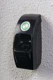 fingerprint needed to open the door Royalty Free Stock Image