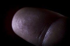 Fingerprint Pointer Finger Stock Images