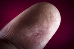 Fingerprint Pointer Finger Royalty Free Stock Image