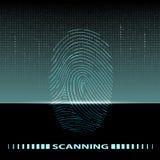 Fingerprint scan Stock Photos