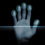 Fingerprint Scanner Royalty Free Stock Image