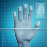 Fingerprint Security Stock Images