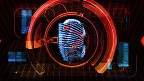 Fingerprint Security Scan Technology (HD)
