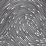 Fingerprint (vector) Royalty Free Stock Image