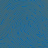 Fingerprint (vector) Royalty Free Stock Photography