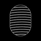 Fingerprint white color icon . Stock Images