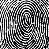 Fingerprint16_crop_DT.jpg Royalty-vrije Stock Foto