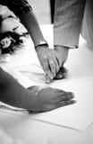 fingerprinting Royaltyfria Bilder