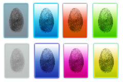 Fingerprints Royalty Free Stock Photos