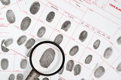 Fingerprints Royalty Free Stock Photo