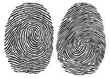fingerprints Zdjęcia Royalty Free