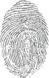 fingerprints Στοκ Φωτογραφία