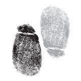 Fingerprints. Black And white Very detailed FingerprintS, available as EPS vector or JPG Royalty Free Stock Photos