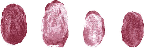 Fingerprints Royalty Free Stock Image