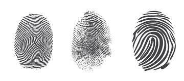 fingerprints Στοκ φωτογραφία με δικαίωμα ελεύθερης χρήσης