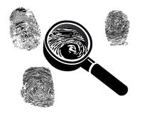 Fingerprints Stock Images