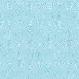 Fingerprints seamless pattern Royalty Free Stock Image