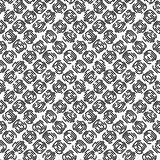 Fingerprints vector black and white seamless pattern2. Fingerprints vector black and white pattern Royalty Free Stock Photography