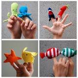 fingerpuppets Стоковые Изображения RF