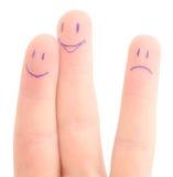 Fingers company Stock Photo